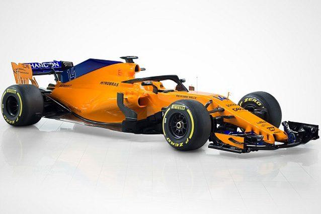 La nuova McLaren MCL33