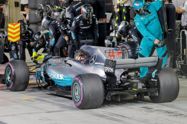 La Mercedes di Lewis Hamilton – Getty images