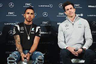 """Toto Wolff: """"Hamilton è sulla strada giusta per battere i record di Schumacher"""""""