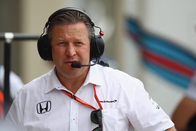 Zak Brown, amministratore delegato della McLaren – Getty images