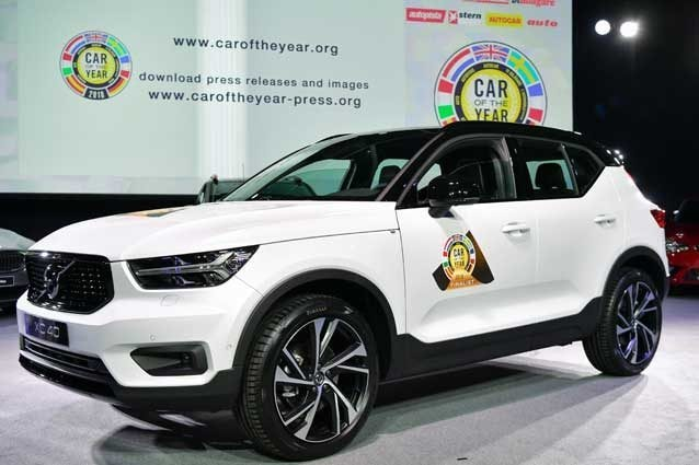 Volvo XC40 Car of The Year 2018/ Getty Images