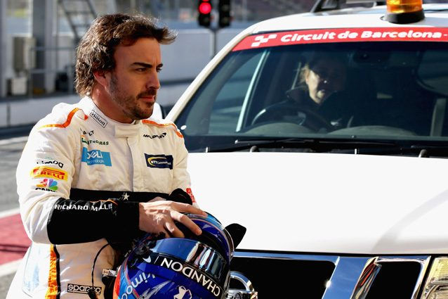 Fernando Alonso – Getty images