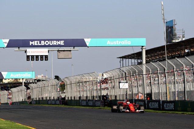 La Ferrari di Vettel al GP d'Australia – Getty images