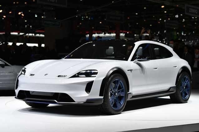 La concept car Mission E Cross Turismo / Getty Images