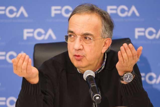 L'amministratore delegato di Fca Sergio Marchionne / Getty Imags
