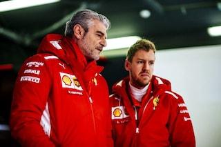 """Arrivabene: """"Vettel ricorda Schumacher, prima o poi sarà campione con la Ferrari"""""""