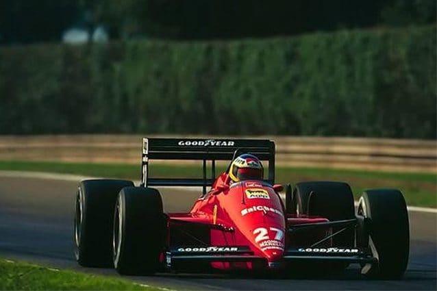 La Ferrari F1/87 – Foto Bonhams