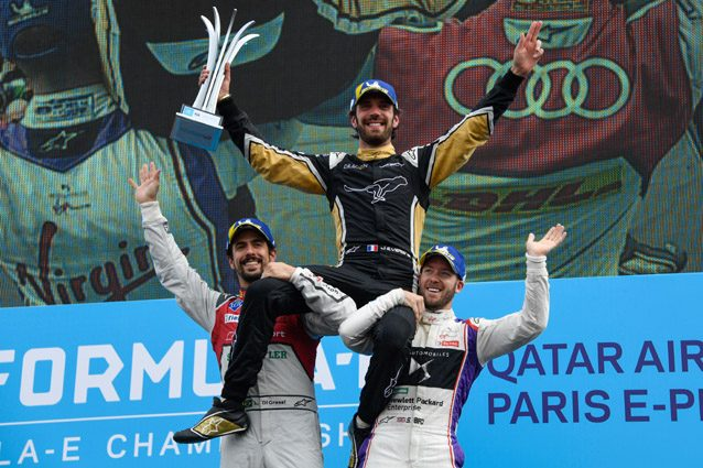 Jean–Eric Vergne vince l'ePrix di Parigi – Getty images