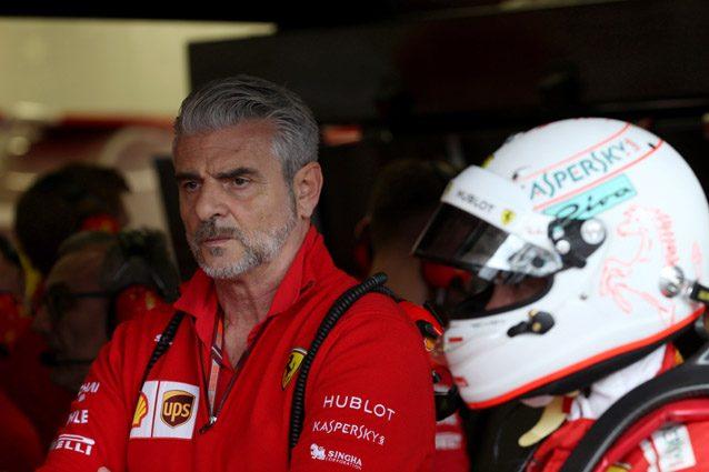 Il team principal Ferrari, Maurizio Arrivabene – LaPresse