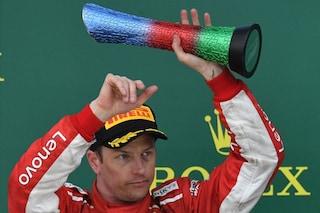 """Raikkonen ai saluti: """"Grazie Ferrari, il mondiale vinto rimarrà per sempre nel mio cuore"""""""