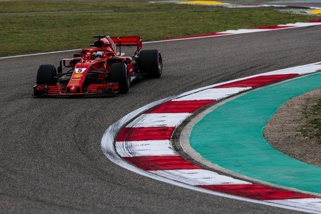 Sebastian Vettel – @Ferrari