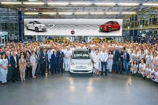 Fiat senza limiti, la 500 tocca quota due milioni di esemplari prodotti