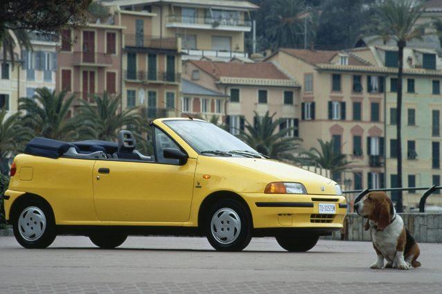 La Fiat Punto Cabrio