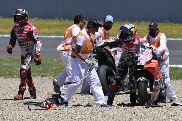 Dovizioso prova a ripartire ma la Ducati è quella di Lorenzo / Getty Images