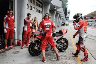 MotoGP, Lorenzo ha provato un nuovo telaio nei test del Mugello