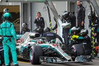 Assist alla Ferrari,Mercedes in Canada con motore usato per problemi di affidabilità