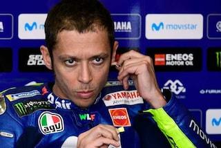 """MotoGP, Valentino Rossi: """"Le scuse della Yamaha? Più che quelle, serve mettere a posto la moto"""""""