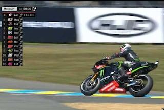 MotoGP Le Mans, Zarco in pole davanti al pubblico di casa. Terza fila per Rossi