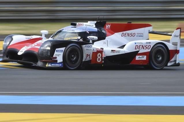 Alonso con la Toyota nel mondiale Wec – Getty images