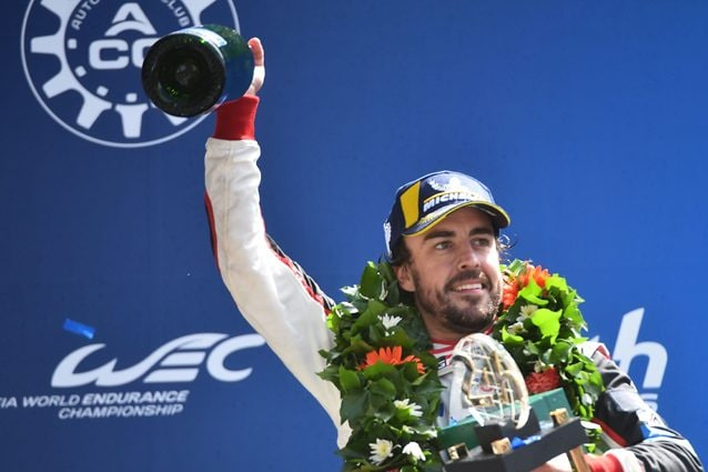 Fernando Alonso vince la 24 Ore di Le Mans 2018 – Getty images