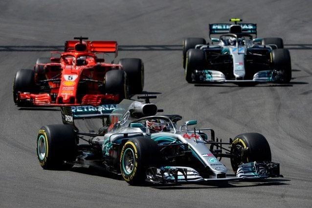Ferrari e Mercedes con le gomme Soft – Getty images