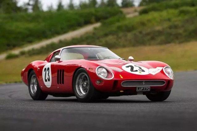 Ferrari 250 GTO – Foto @Sotheby's
