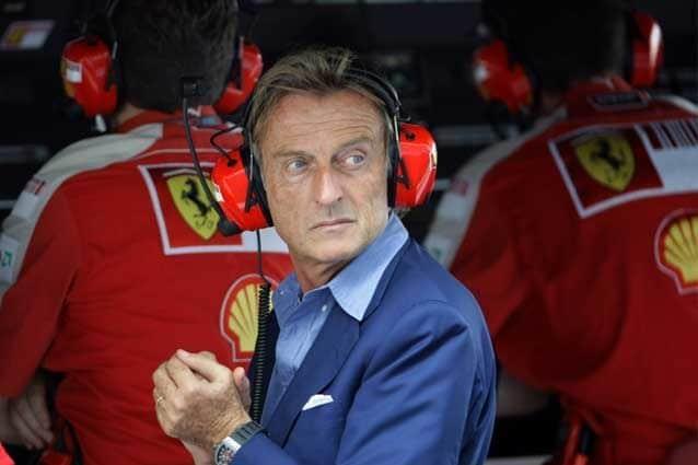 Luca Cordero di Montezemolo al muretto Ferrari / Getty Images