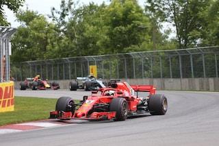 Vettel interrompe il digiuno e torna in vetta al mondiale, in Canada è festa Ferrari