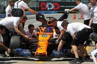 Alonso cambia la MGU-K della sua Mclaren, partirà dalla pit lane nel GP d'Austria