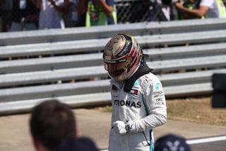 Hamilton, vittoria in Brasile con lo scarico rotto: ad Abu Dhabi potrebbe partire dal fondo