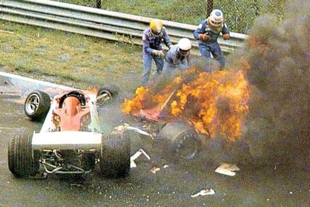 L'incidente di Niki Lauda al Nurburgring