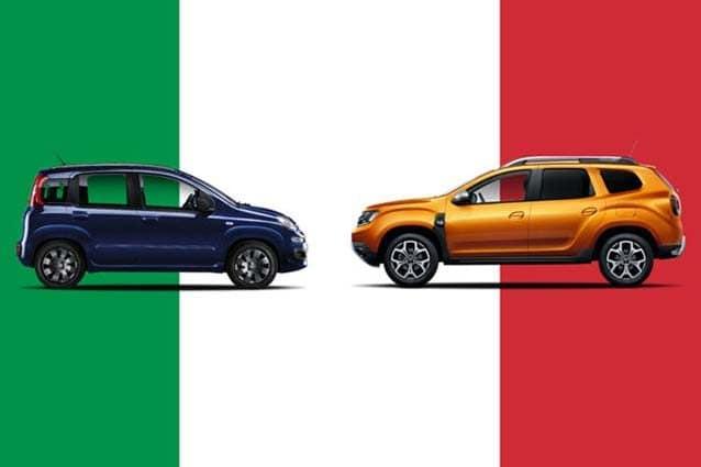La Fiat Panda e la Dacia Duster – Foto @Drive K