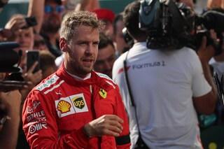 """Vettel: """"La Ferrari ha tanto potenziale, possiamo mettere pressione alle Mercedes"""""""