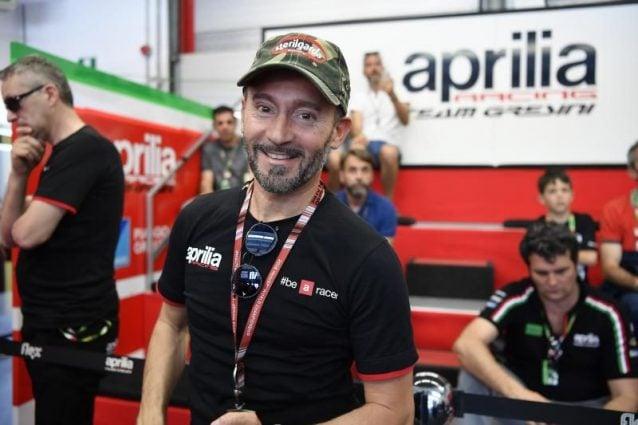 Max Biaggi, 47 anni, drand ambassador di Aprilia / motogp.com