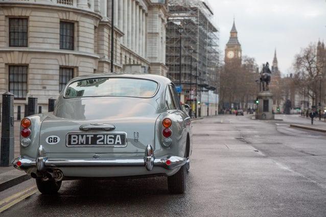 La nuova Aston Martin DB5