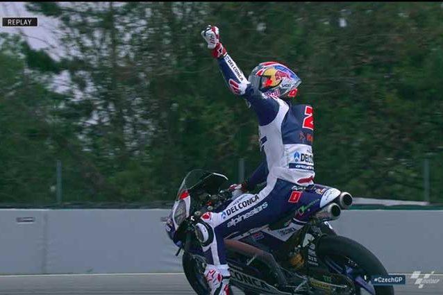 A Brno la prima vittoria in carriera per Di Giannantonio / MotoGp.com