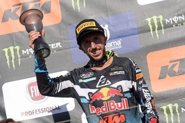 Il nove volte campione del mondo di Motocross Tomu Cairoli / De Carli Racing