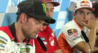"""MotoGP, Crutchlow: """"Fenati ha giocato la carta della storia strappalacrime ma io non gli credo"""""""