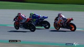 MotoGp ad Aragon: Marquez senza calcoli, spettacolo con Dovi. Redivivo Iannone