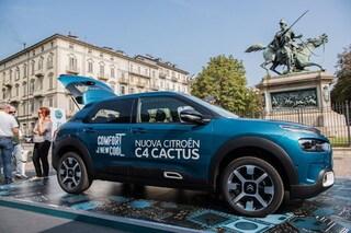 """Comfort e adrenalina, con Citroen C4 Cactus arriva il tour """"Zero Gravity"""""""