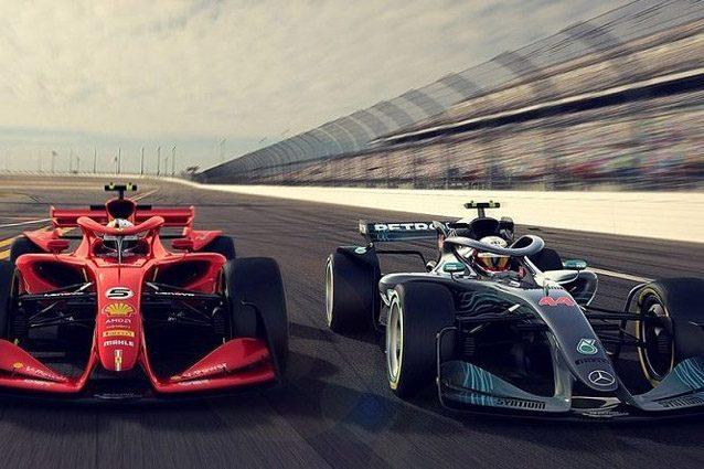 Le prime immagine ufficiali delle vetture 2021 – Foto Twitter