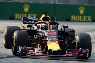 F1 GP Singapore, Prove libere 1: sorpresa Red Bull, Vettel chiude con il 3° tempo