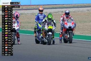 MotoGP, Ducati subito al top ad Aragon: svetta Dovizioso, 7° Rossi