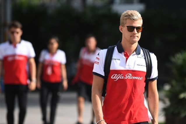 Marcus Ericsson, 28 anni, dal 2019 terzo pilota Alfa Romeo Sauber