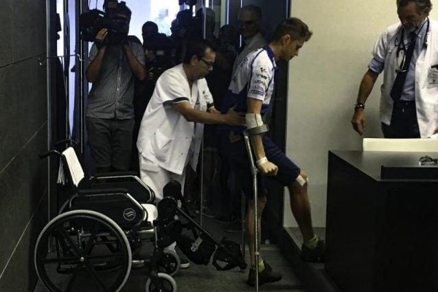 Tito Rabat all'Ospedale Dexeus di Barcellona / MotoGP.com