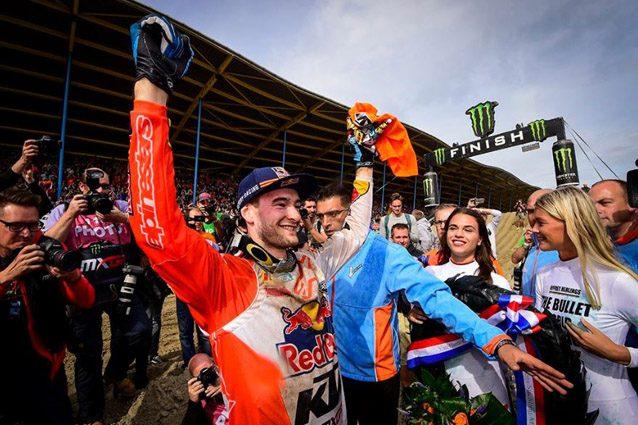 Jeffrey Herlings festeggia il primo titolo mondiale in MXGP – Foto Twitter