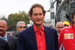 """Il presidente Ferrari John Elkann: """"Vogliamo vincere il mondiale, Rossa più forte con Binotto"""""""