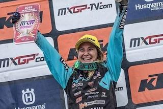 Kiara Fontanesi da record, l'italiana conquista il 6° mondiale motocross in carriera