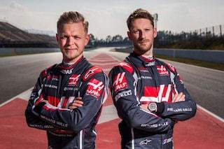 Haas conferma i piloti, nel 2019 al volante ci saranno ancora Magnussen e Grosjean