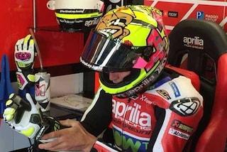 MotoGP, Espargaro a Misano con il casco dedicato a Pantani